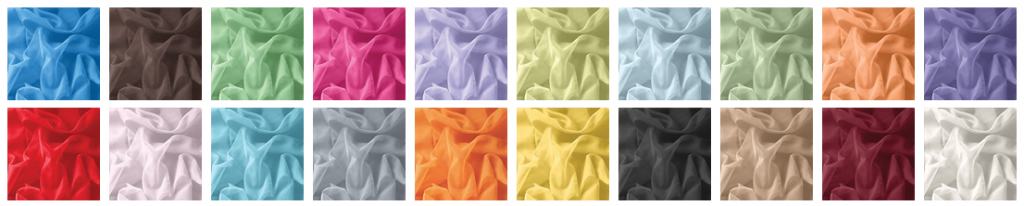 X gram Zavesa Vzorčna paleta